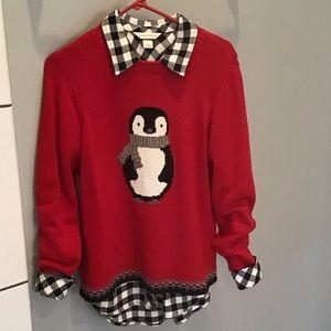 Christopher & Banks Penguin Sweater